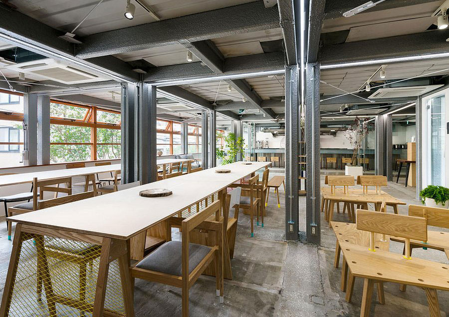 Stories on design coworking spaces yellowtrace Shared office space design