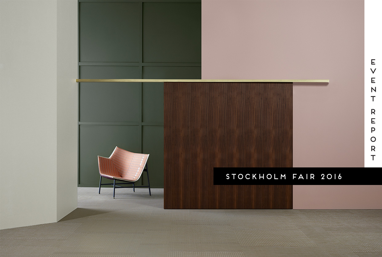 Stockholm Furniture Fair 2016 Event Report | Yellowtrace