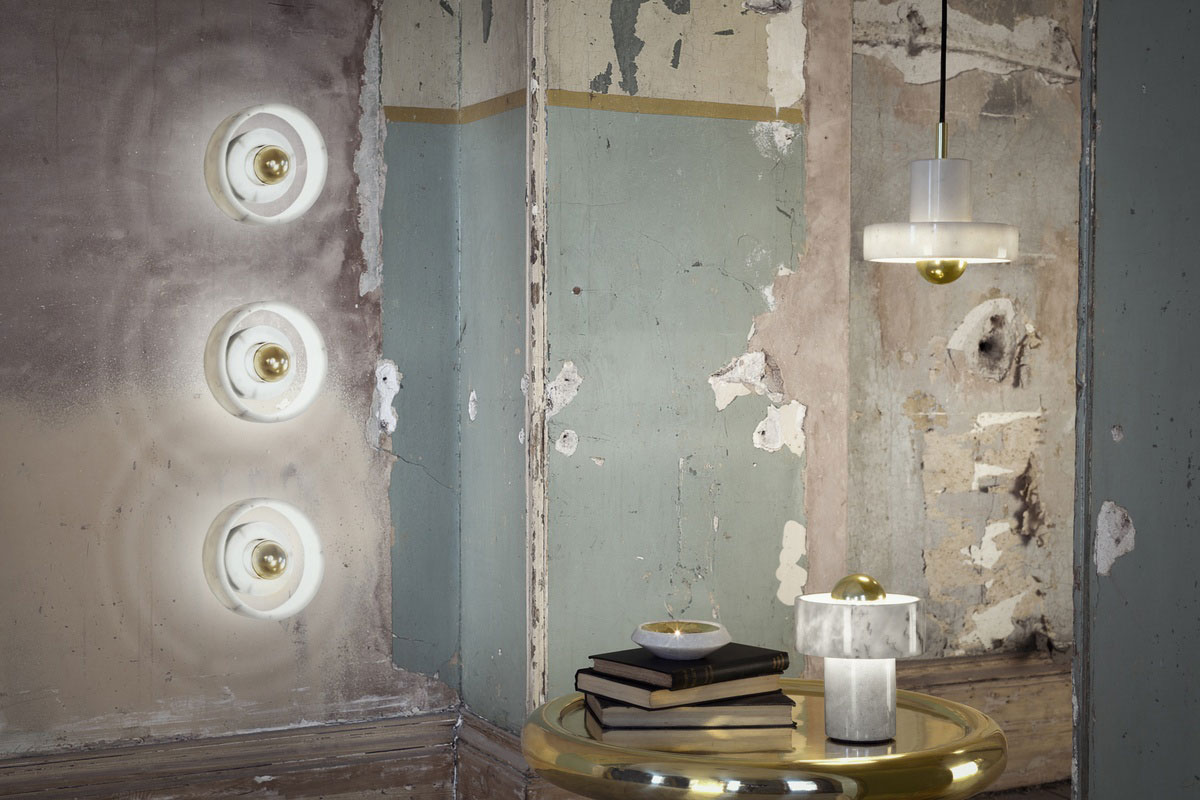 Stone Lights from Tom Dixon | Yellowtrace