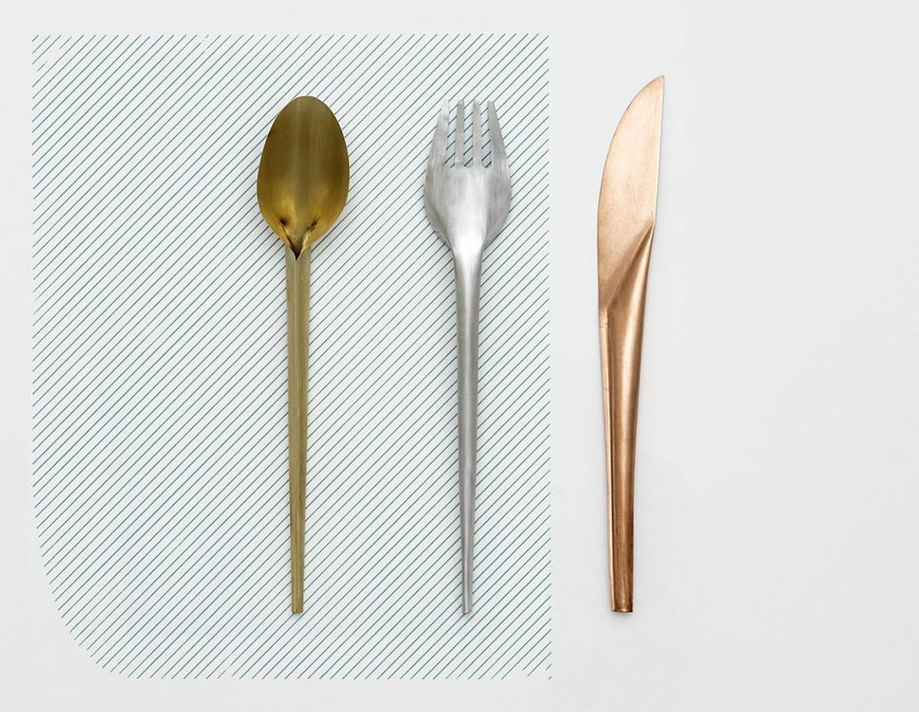 Studio Wieki Somers Reinterprets Cutlery for Valerie Objects | Yellowtrace