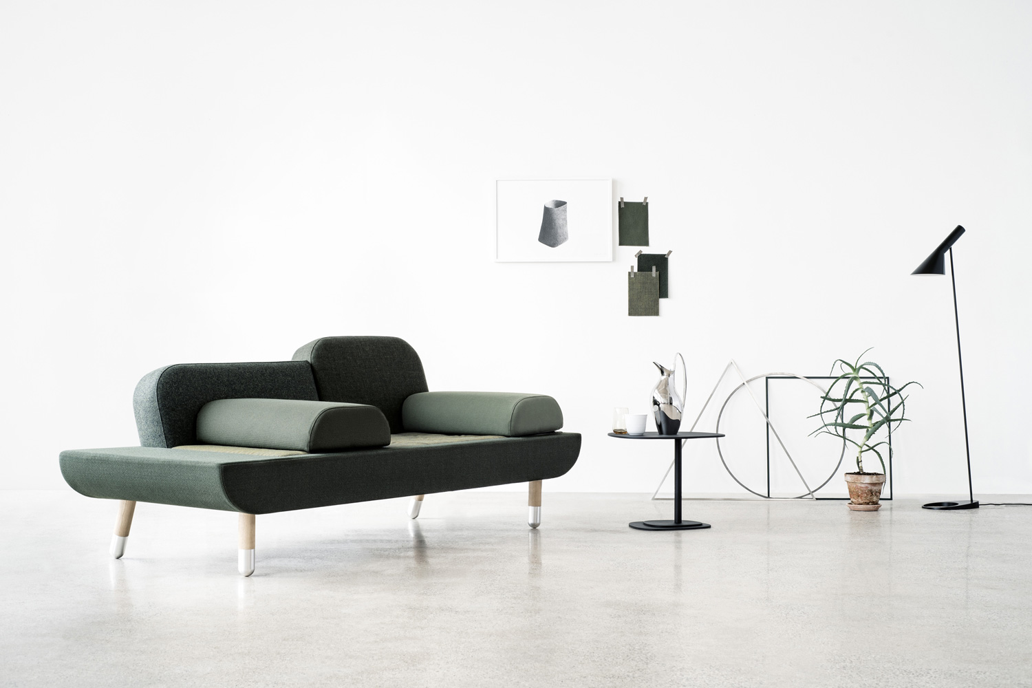 Toward Sofa by Erik Jorgensen | Yellowtrace
