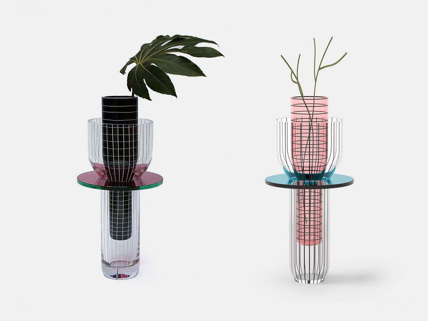 Toy Glass Vase by Guillaume Delvigne | Yellowtrace