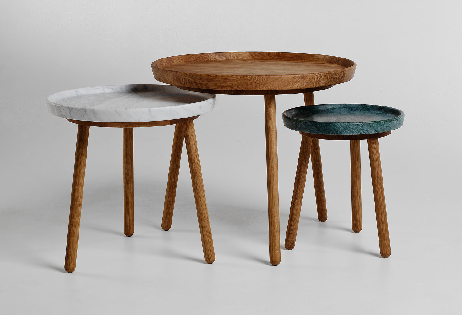 Tureen Tables by Jonas Lindvall for Stolab | Yellowtrace