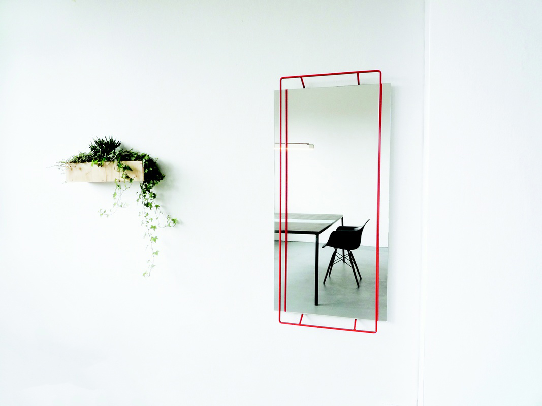 Untitled Mirror designed by Marc Schulthess | Yellowtrace
