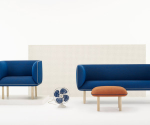 Wes Seating Collection by Tom Fereday for Zenith | Yellowtrace