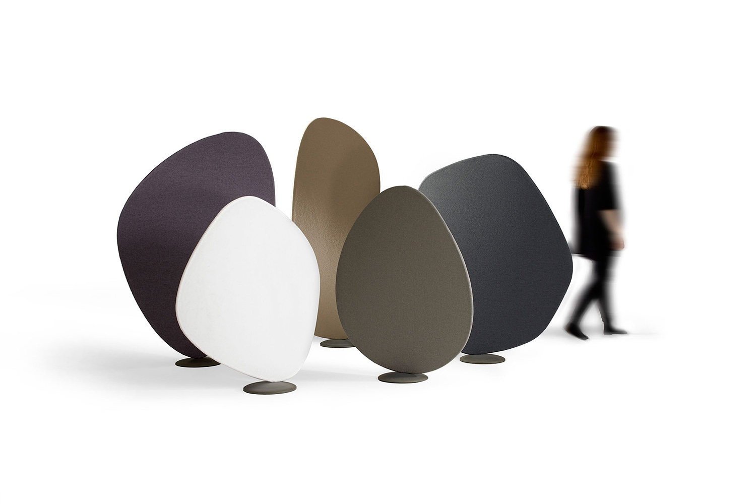 Wind room dividers by Jin Kuramoto for Offecct | Yellowtrace