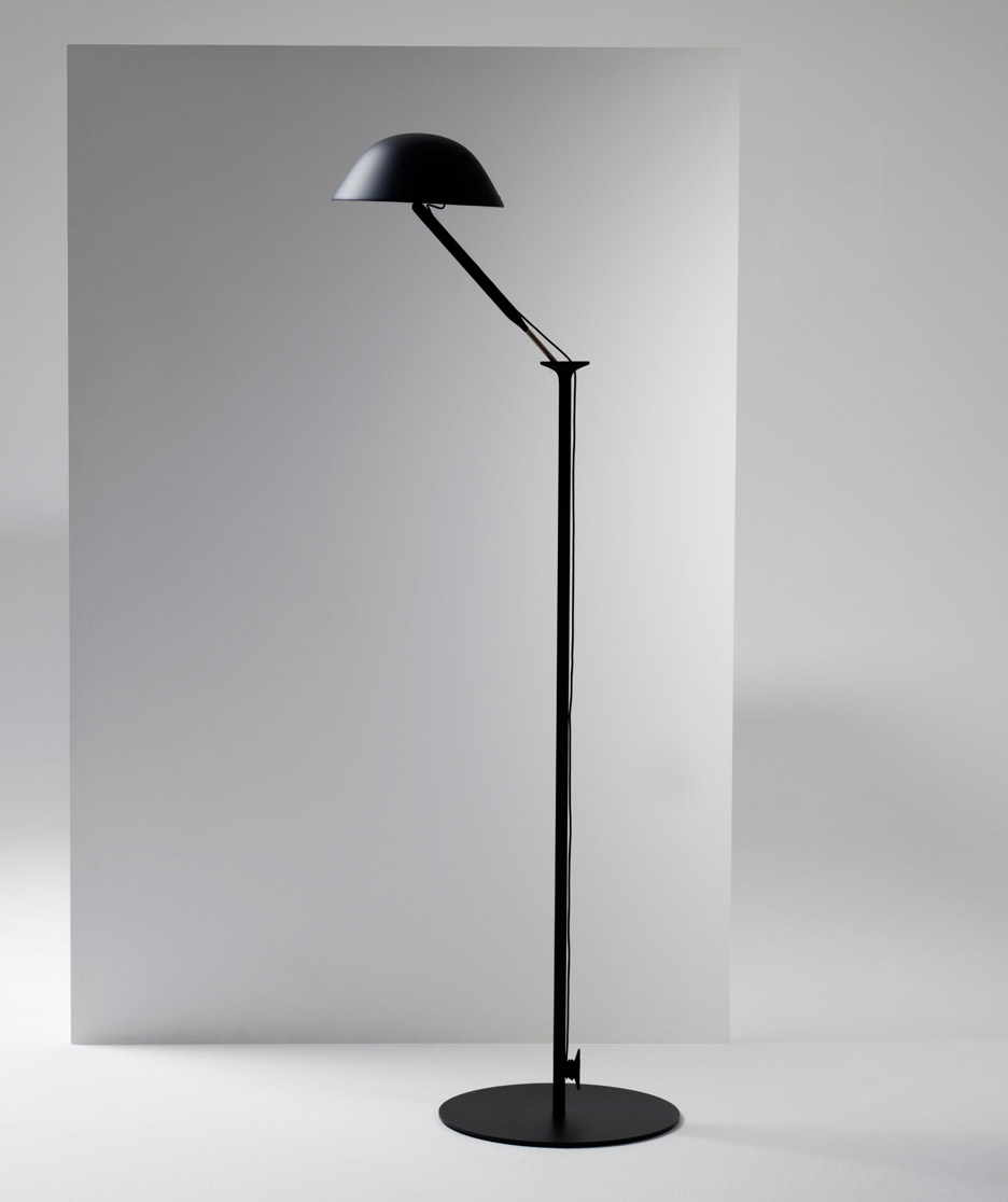 w103 floor lamp by Lampyre Inga Sempe for Wastberg | Yellowtrace