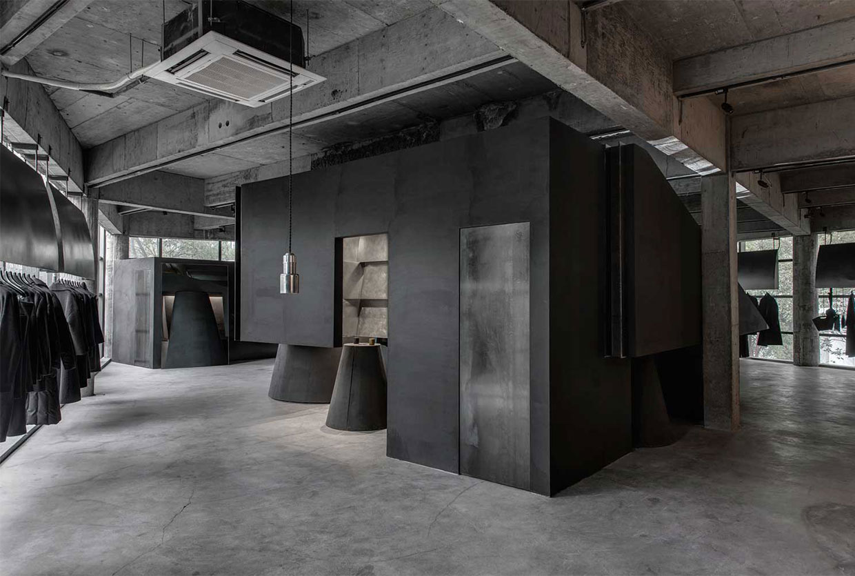 Heike Store in Hangzhou, China by An Design Studio | Yellowtrace