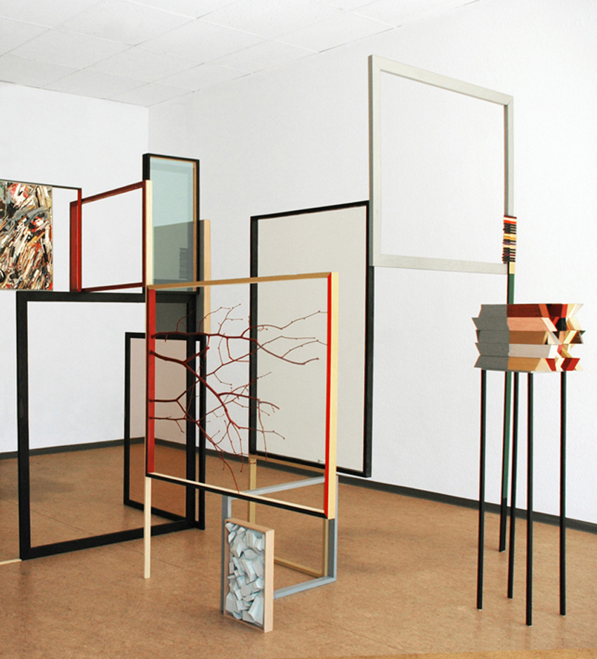 Installations, Collages & Paintings by Katharina Trudzinski   Yellowtrace
