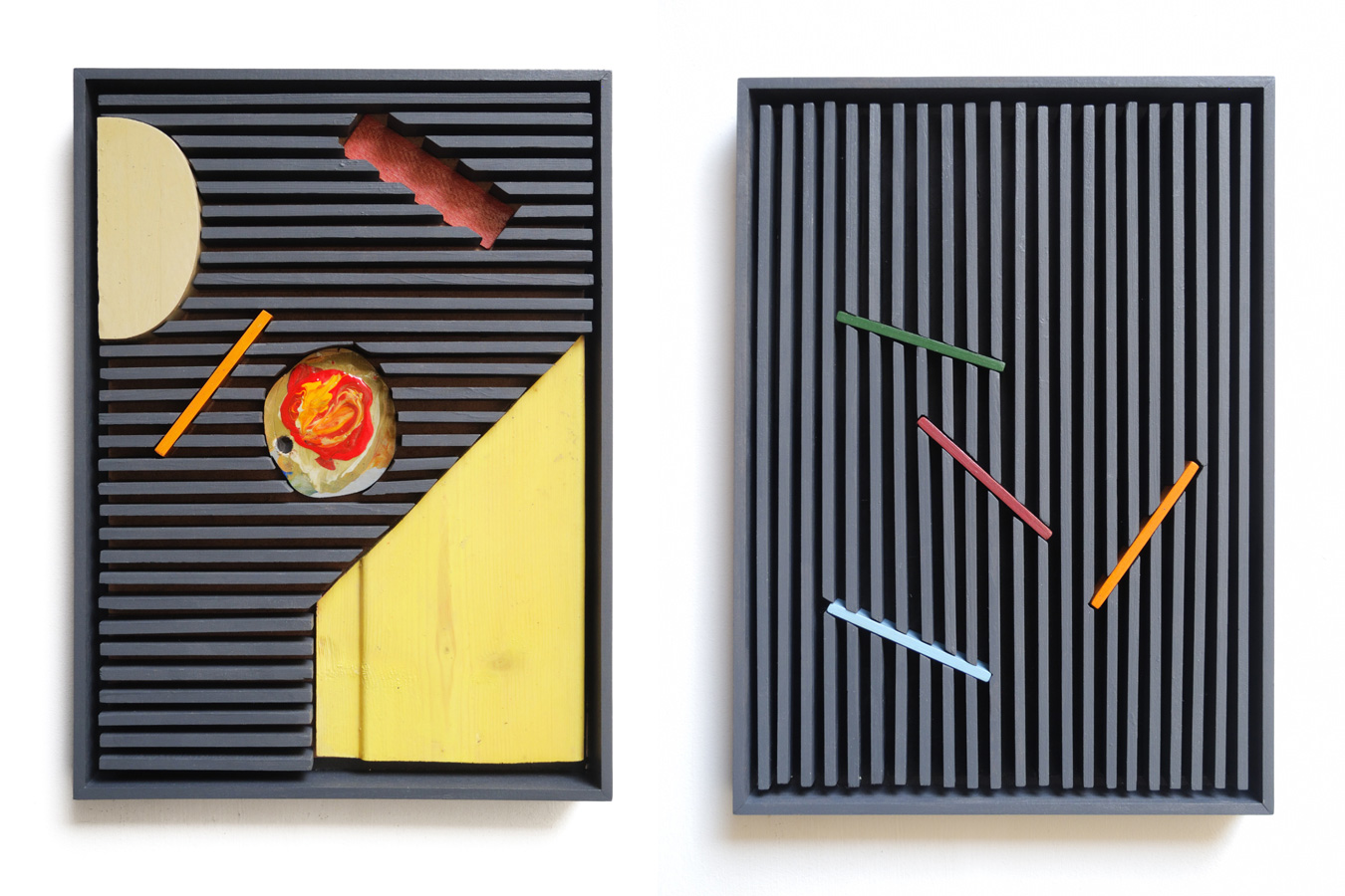 Installations, Collages & Paintings by K Trudzinski   Yellowtrace
