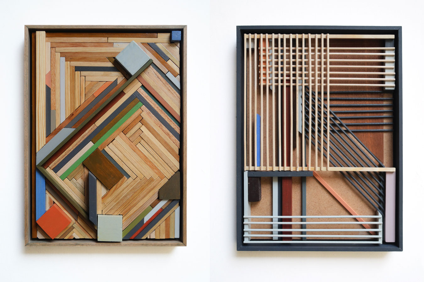 Installations, Collages & Paintings by K Trudzinski | Yellowtrace
