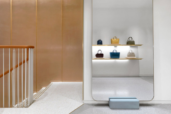 J&M Davidson London Store by Universal Design Studio | Yellowtrace