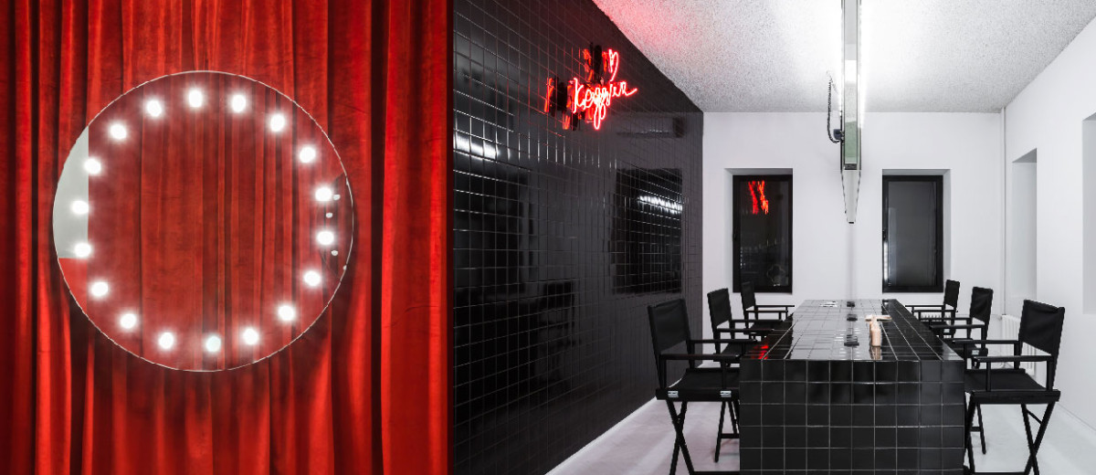 Krygina Makeup Studio By Archiproba In Moscow, Russia.
