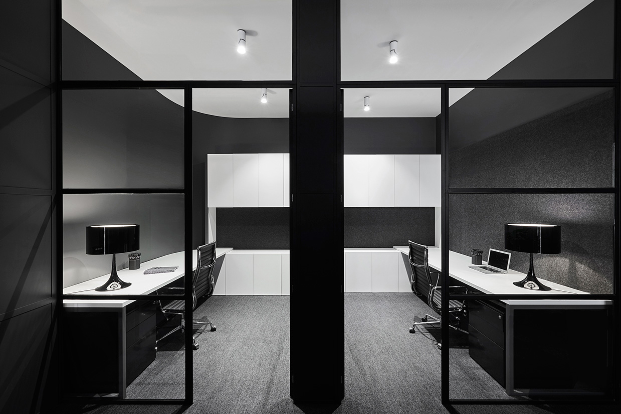 Lechte office fitout in melbourne by plus architecture for Office fit out