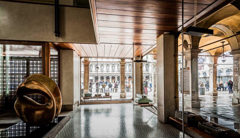 Fashion exhibitions 2017 - Olivetti Showroom In Venice By Carlo Scarpa Yellowtrace
