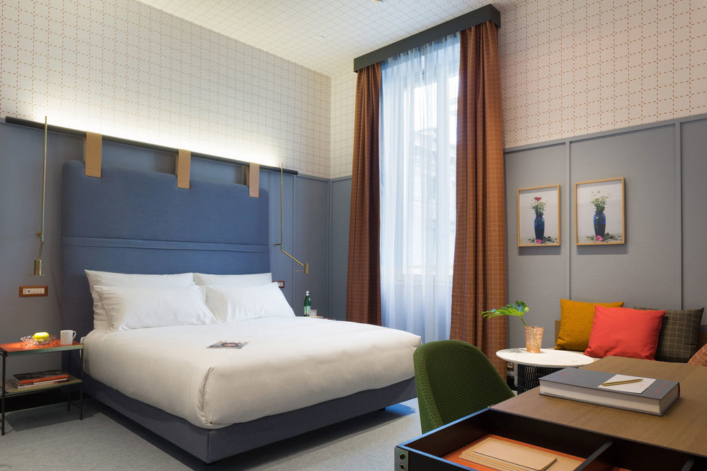 Room Mate Giulia Hotel In Milan By Patricia Urquiola