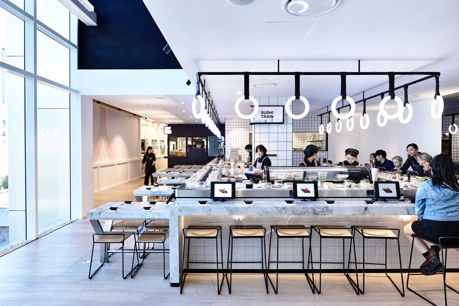 Tetsujin japanese restaurant melbourne by architects eat