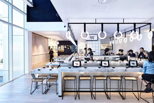 Tetsujin Japanese Restaurant Designed by EAT Architecture in Melbourne | Yellowtrace
