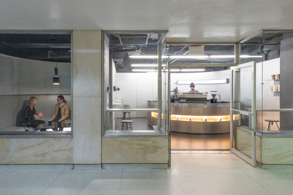 Voyager Espresso Submerged Beneath the New York City's Financial District Subway | Yellowtrace