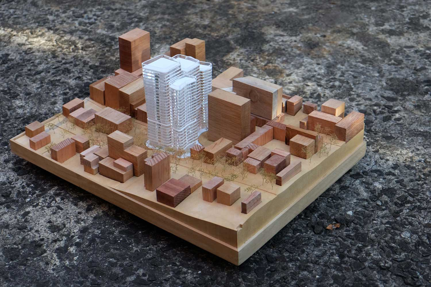 Woods Bagot Architecture model by Make Models | Yellowtrace