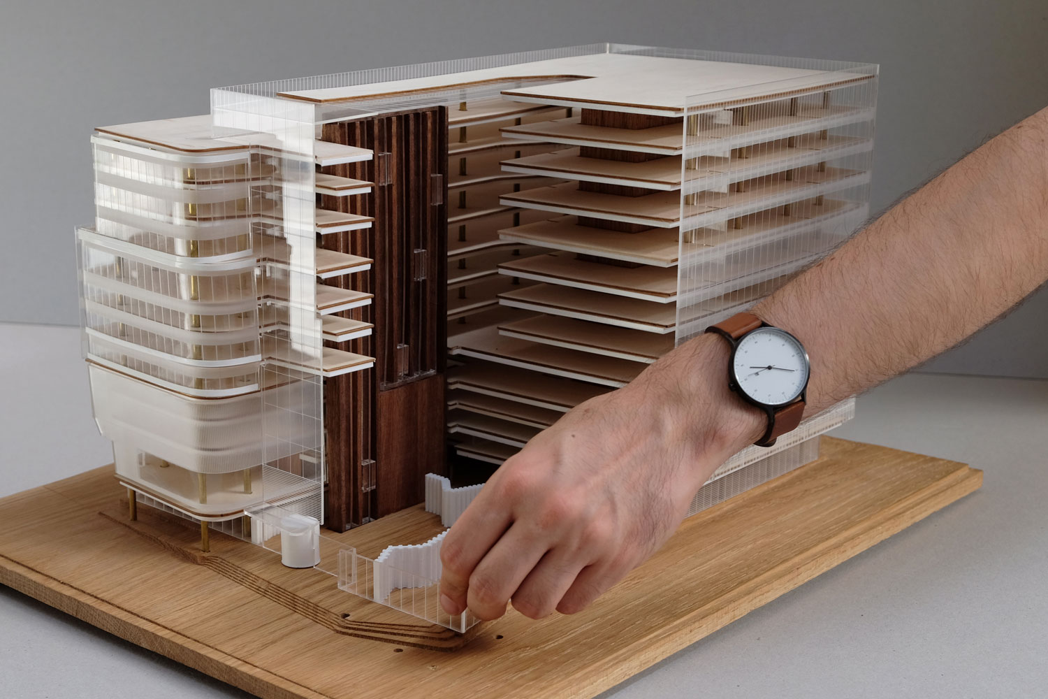 Woods Bagot Commonwealth Bank buildings Make Models | Yellowtrace