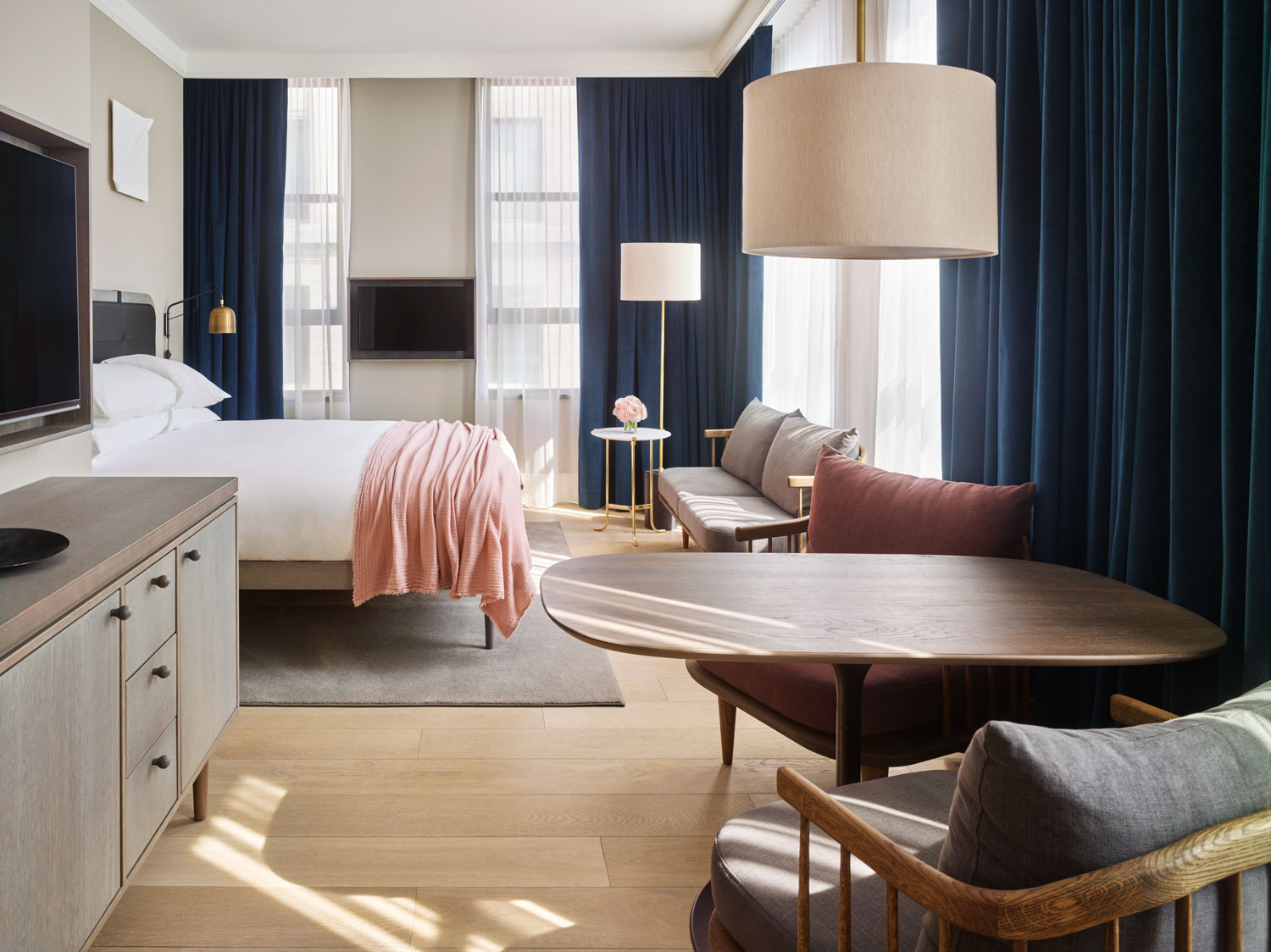 11 howard hotel opens in new york yellowtrace for Hotel design jersey