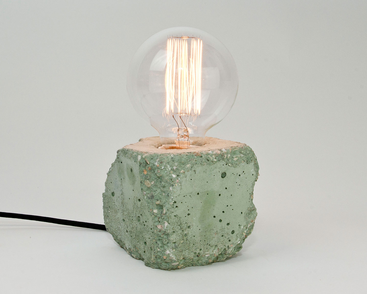 Alpha Concrete Lamp by LJ Lamps | Yellowtrace