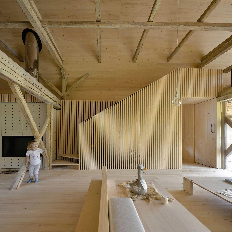 Alpine Barn Apartment by OFIS ARHITEKTI | Yellowtrace