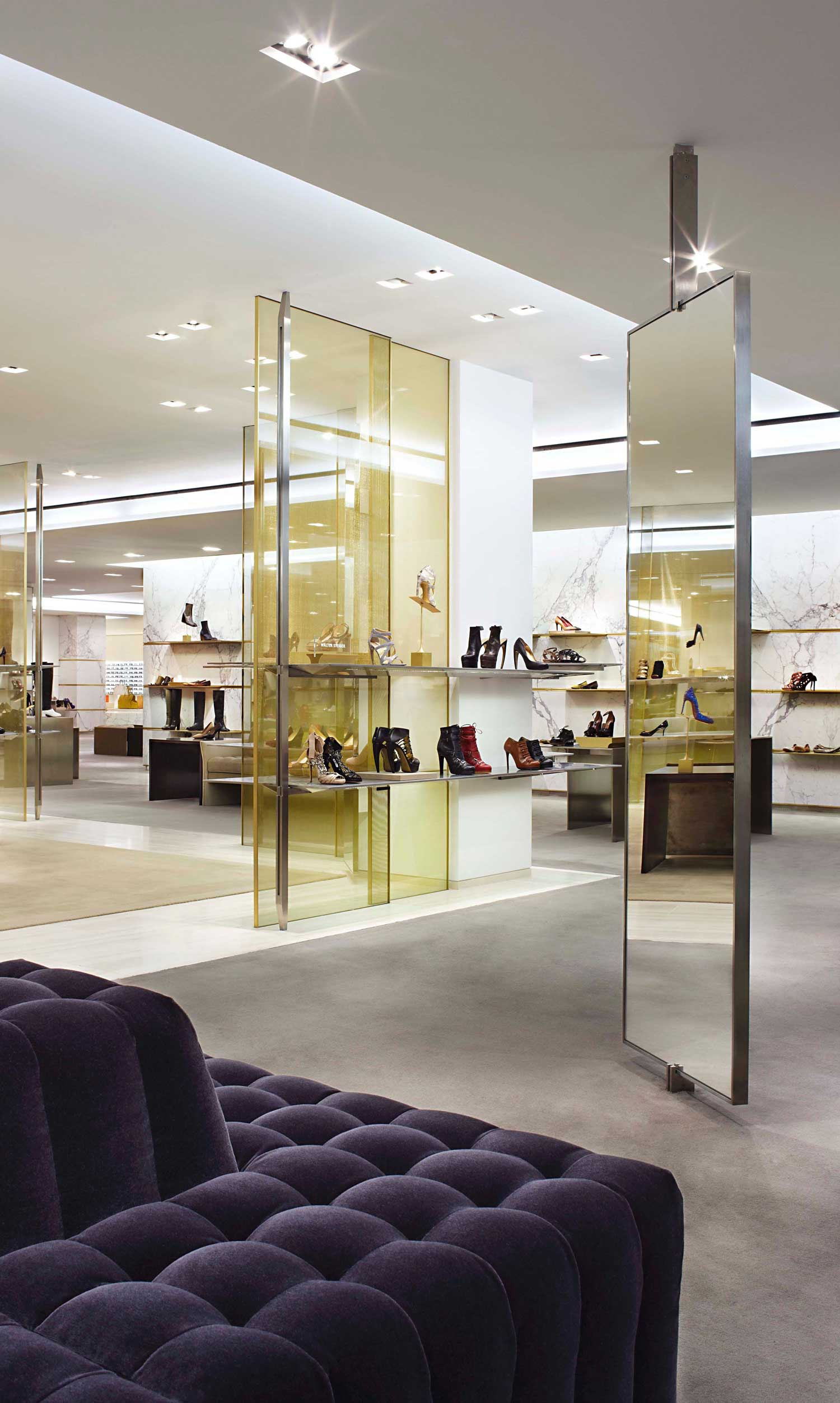 Barneys New York Retail by Yabu Pushelberg | Yellowtrace