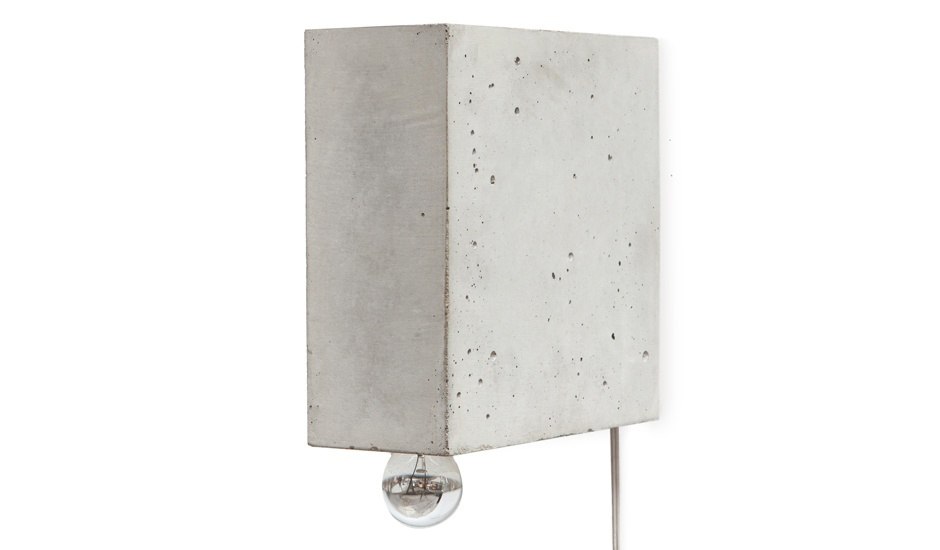 Beton Concrete Lamp by Matthias Kothe of Komat | Yellowtrace