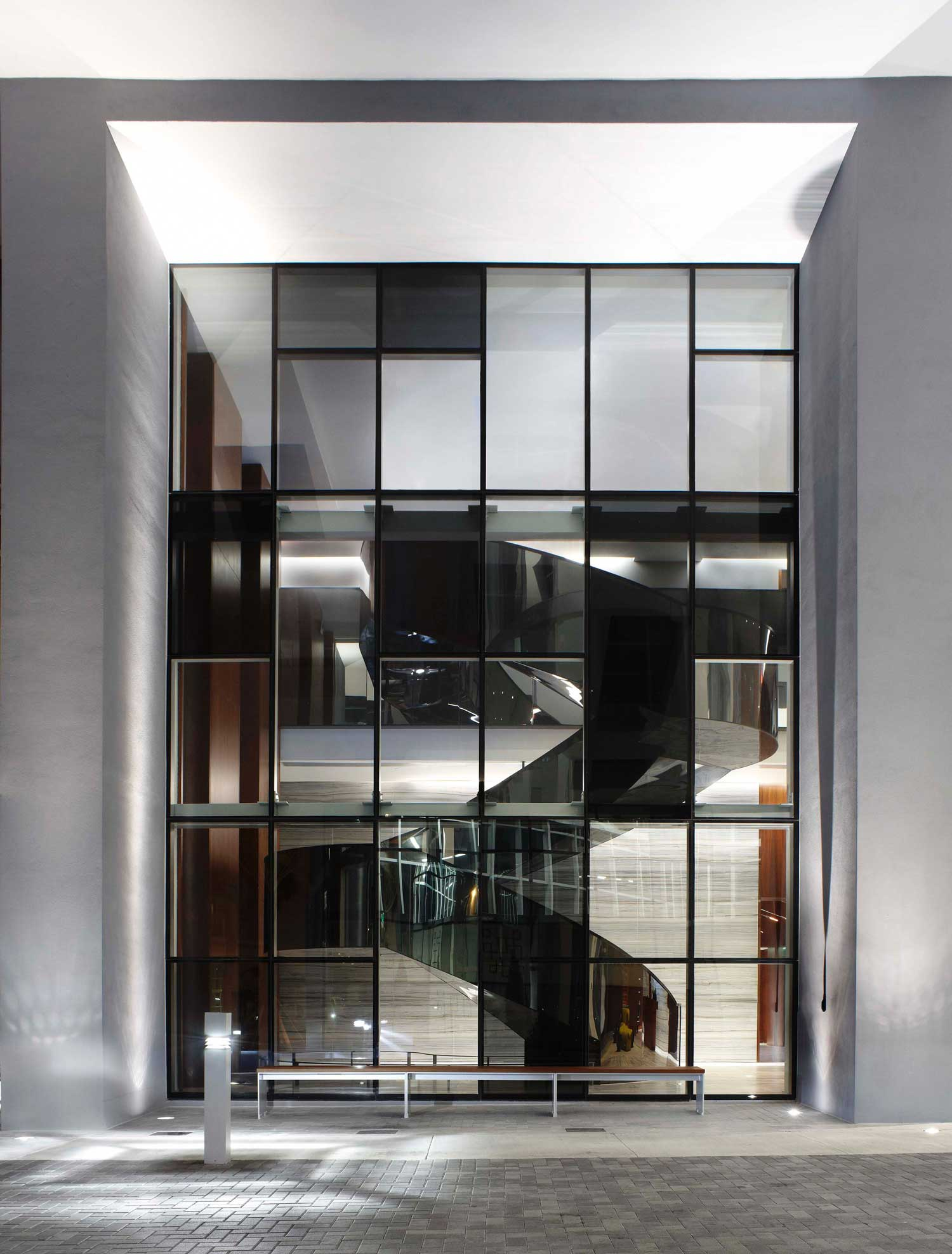 Selected projects by yabu pushelberg yellowtrace for Brickell house