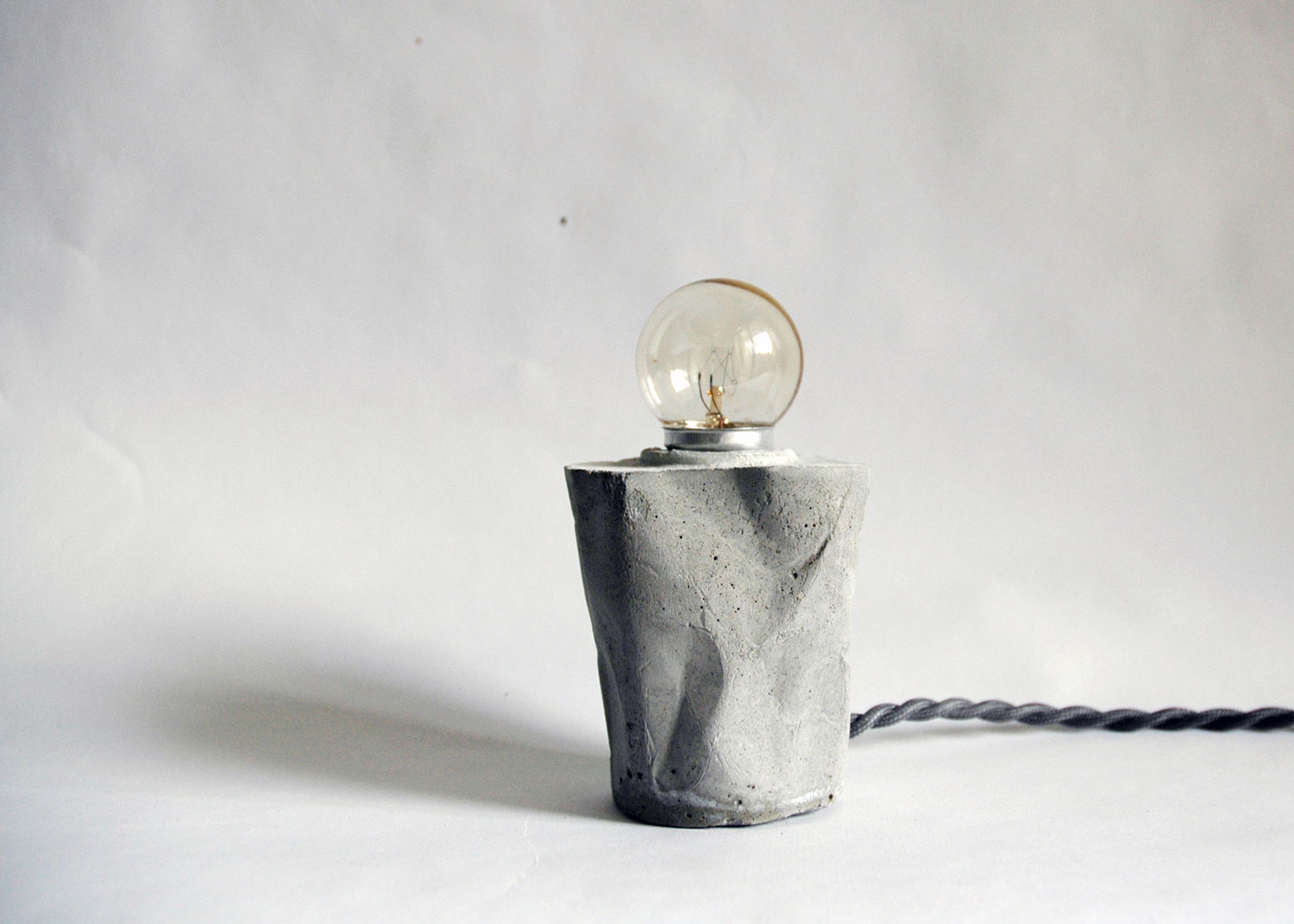 Concrete Lights Experiment by Elim Cheng | Yellowtrace