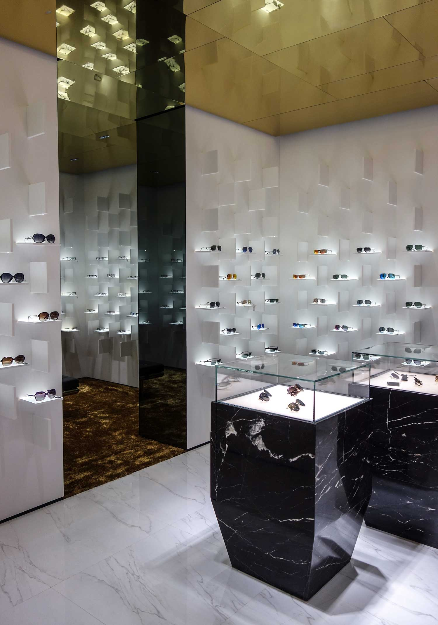 Bolon Eyewear Flagship Store in Shanghai by Ippolito Fleitz | Yellowtrace
