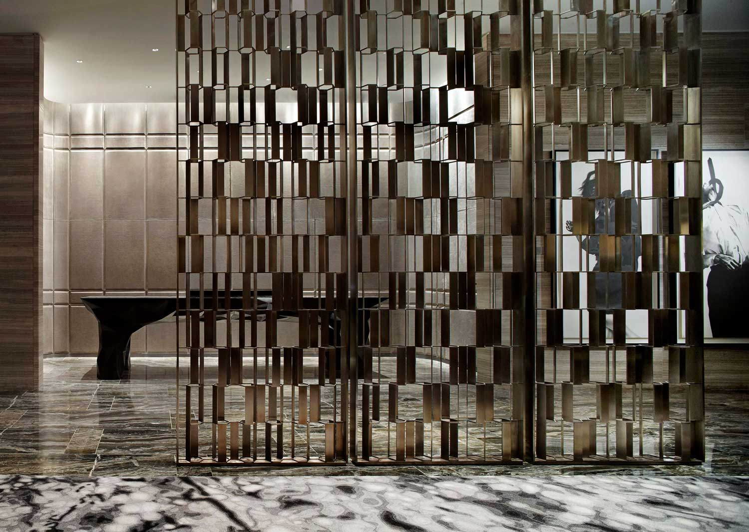 Selected projects by yabu pushelberg yellowtrace for Steel divider design