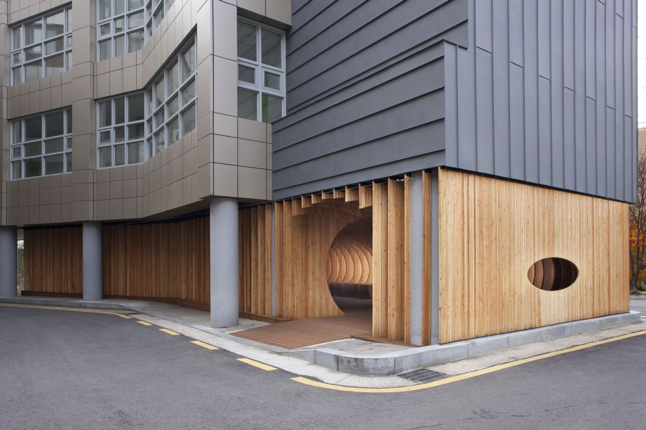 Rest Hole in the University of Seoul by UTAA | Yellowtrace