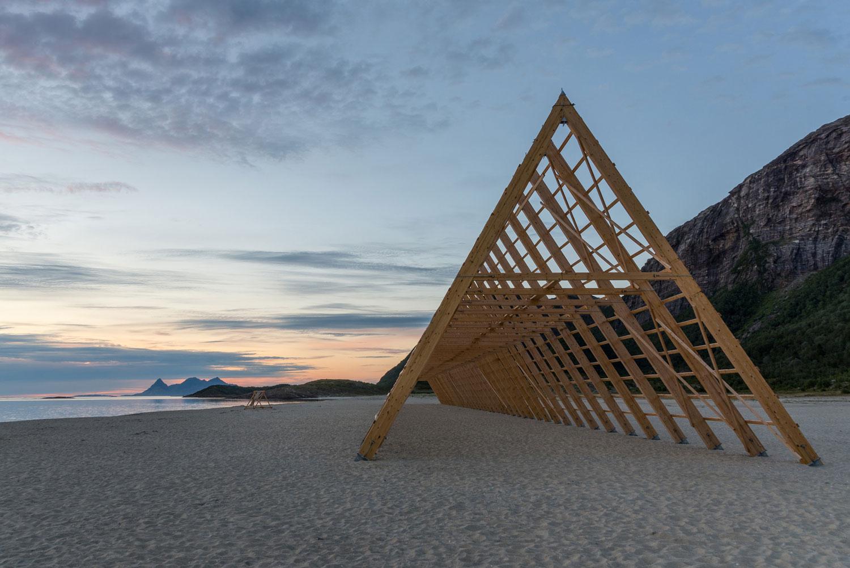 SALT Festival Installations by Rintala Eggertsson Architects   Yellowtrace