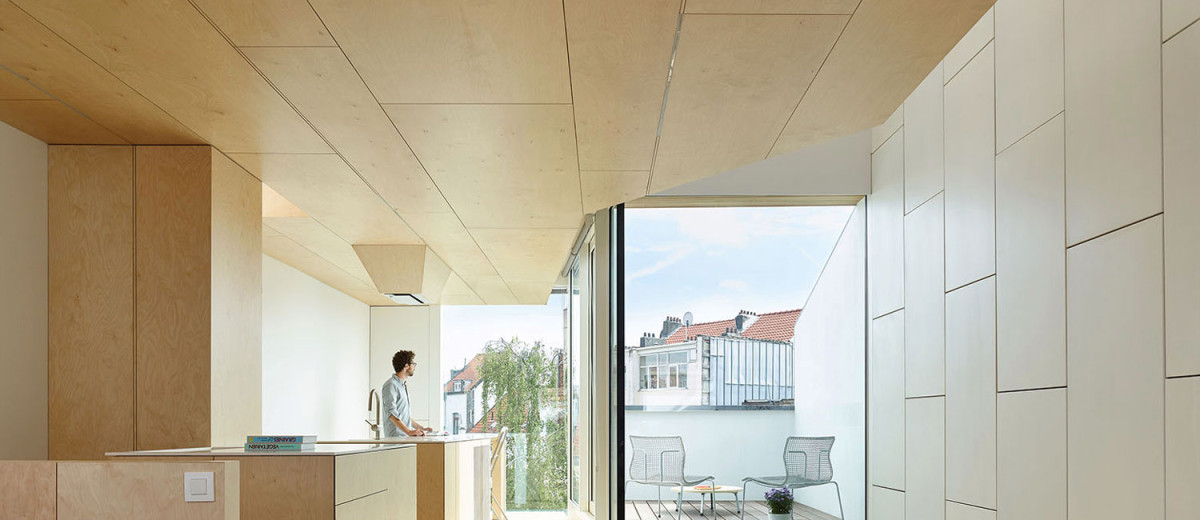 Terraced House Reno by Edouard Brunet + François Martens   Yellowtrace