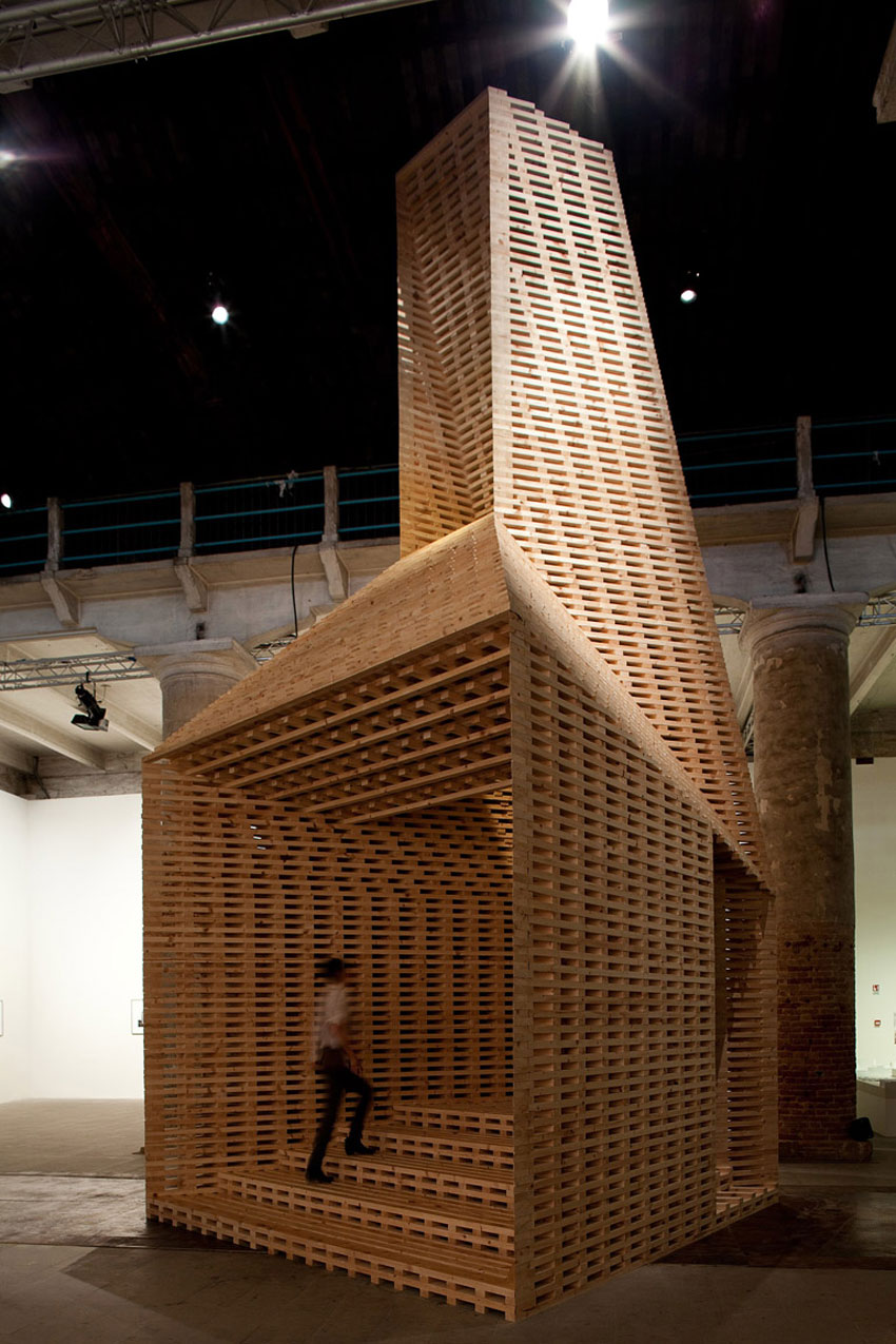 Stories On Design Temporary Timber Structures Yellowtrace