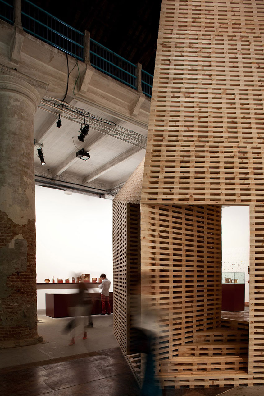 Vessel by O'Donnell + Tuomey at Venice Architecture Biennale 2012 | Yellowtrace