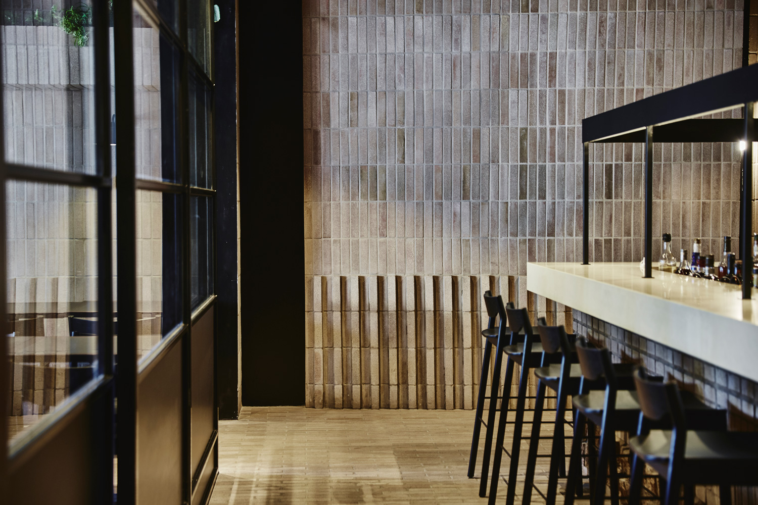 Antica Morphett St Pizzeria in Adelaide by Genesin Studio.