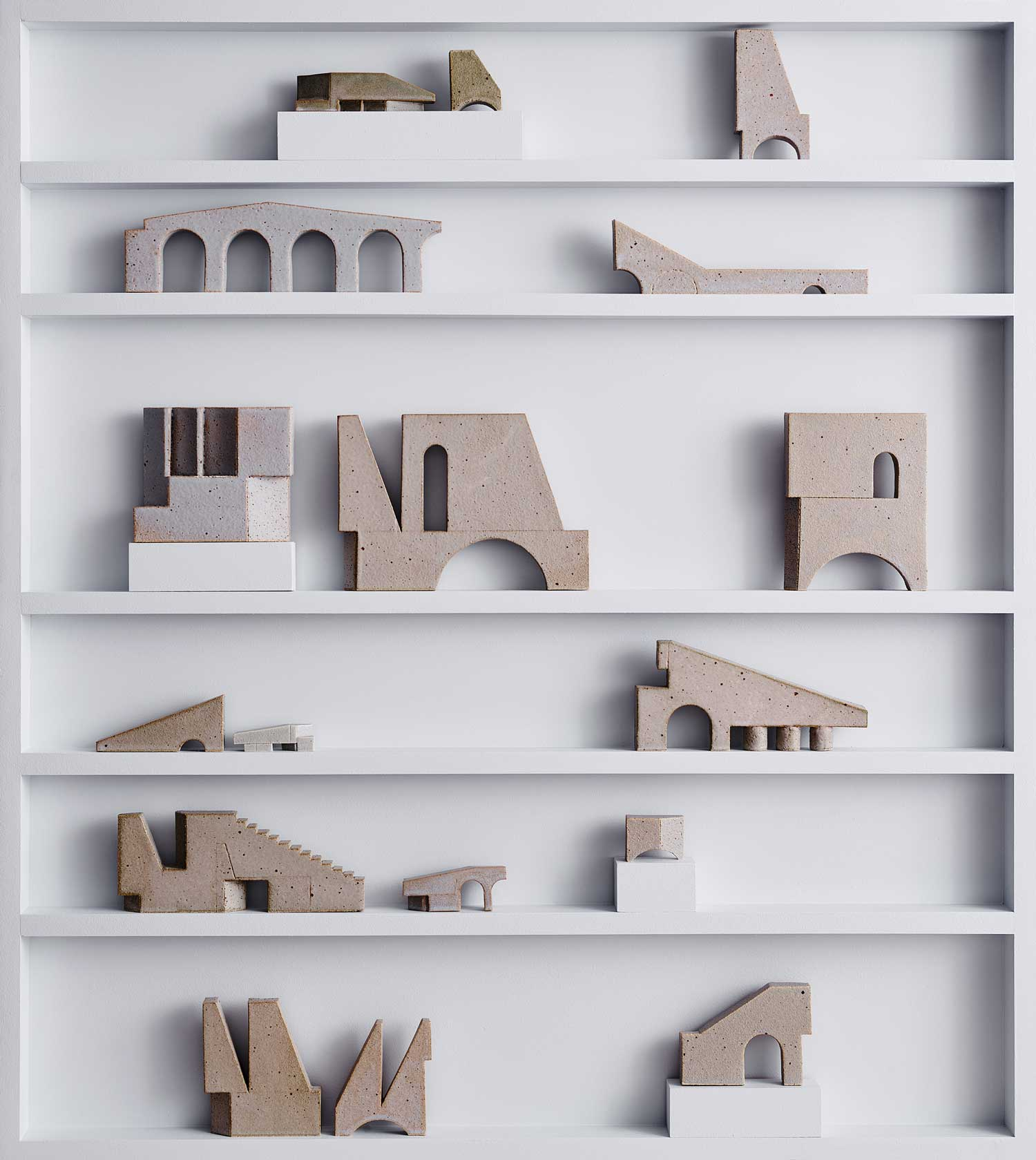 Bruce Rowe S Structures Exhibition At Hub Furniture Yellowtrace