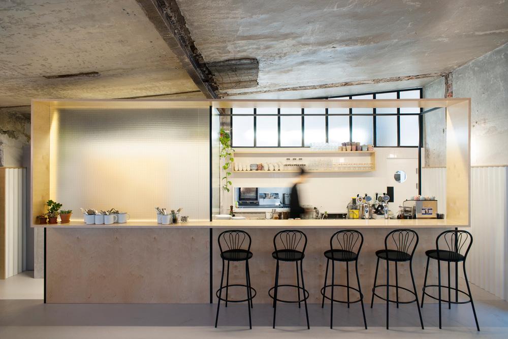 DIZENGOF99 Cafe Moscow by Crosby Studios & Valya Zaytseva | Yellowtrace