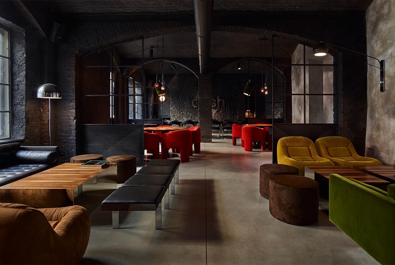 Dash Restaurant in Turin, Italy designed by Fabio Fantolino | Yellowtrace