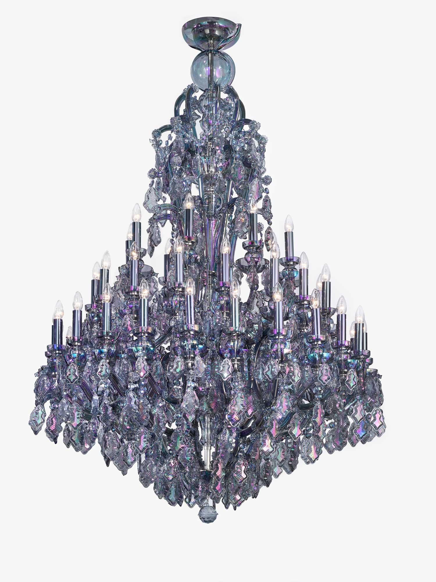 Jakub Berdych Empress Chandelier for Lasvit | #Milantrace2016
