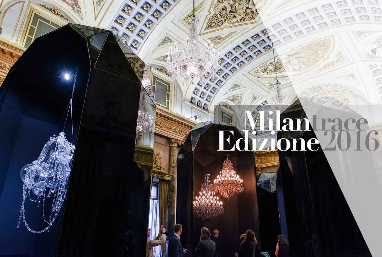 Via Lucis by Lasvit at Palazzo Serbelloni, Milan Design Week 2016 | #MILANTRACE2016