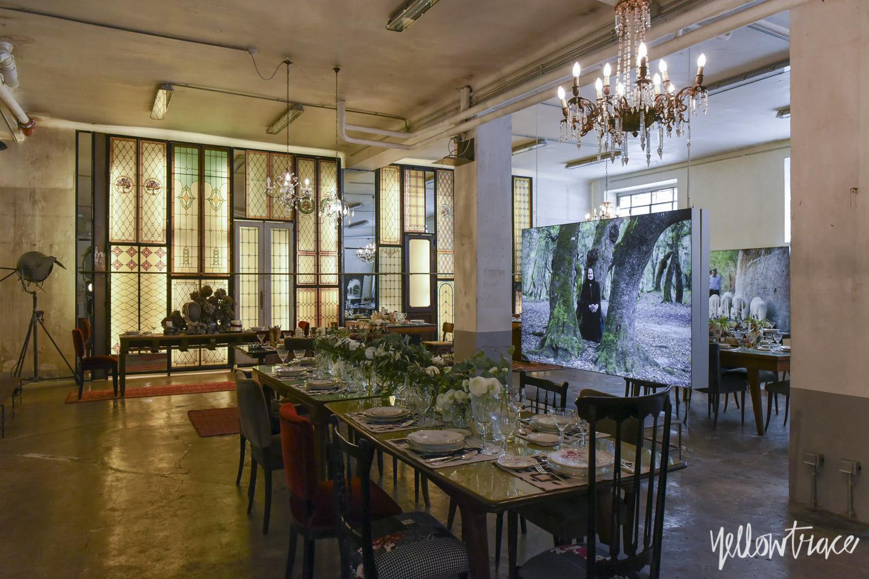 Antonio Marras, Eligo - Labyrinths & Wires Installation Milan Design Week 2016