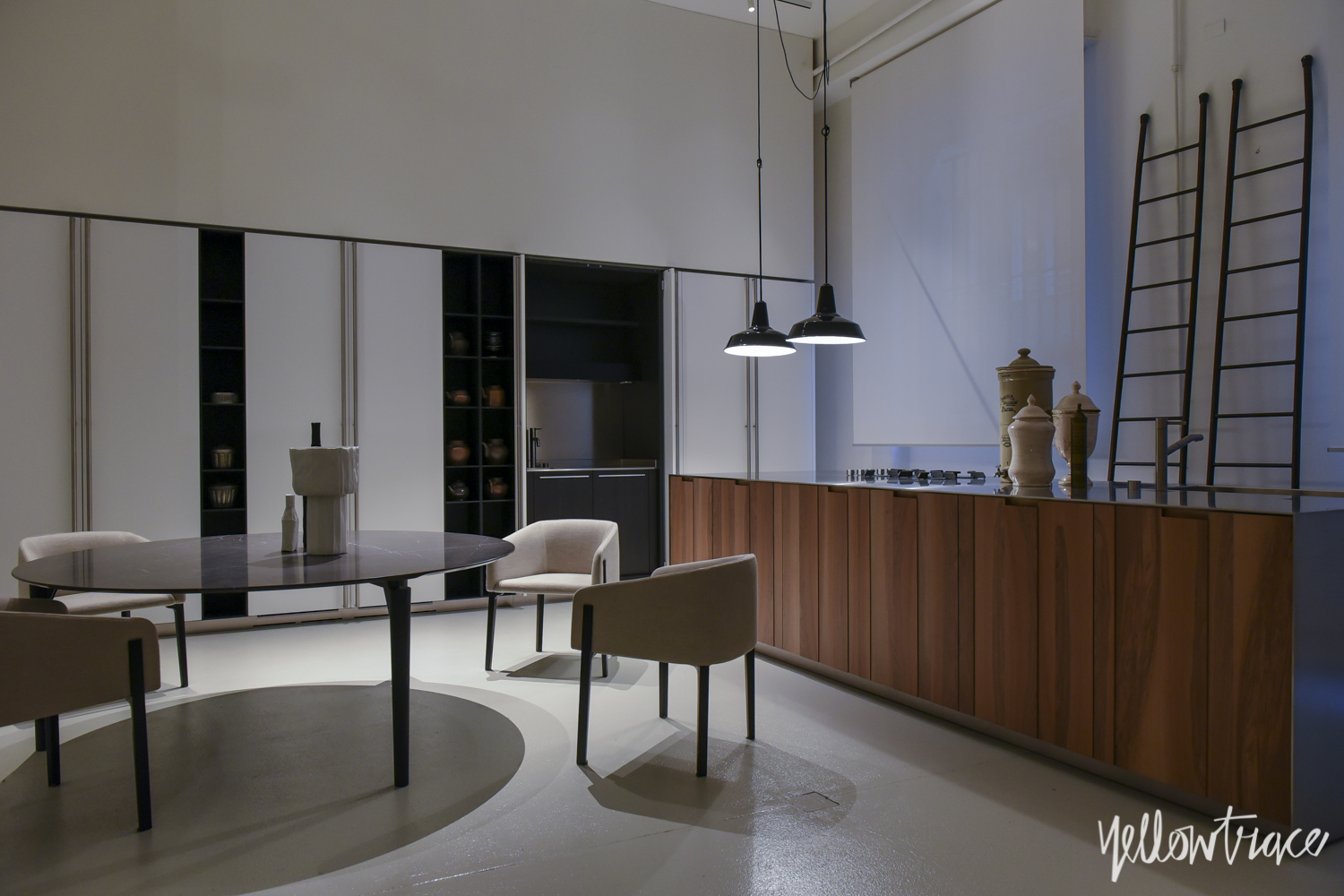 De Padova Showroom Milan by Piero Lissoni | Yellowtrace