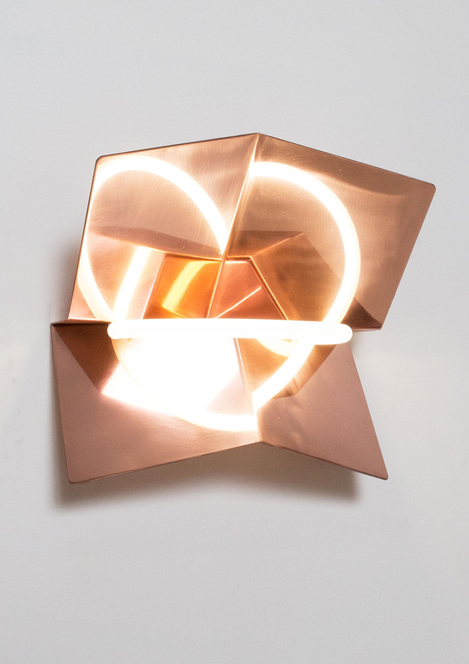 Broken Heart Lamp by Studio Philipp Kafer, Salone Satellite 2016 | #MILANTRACE2016