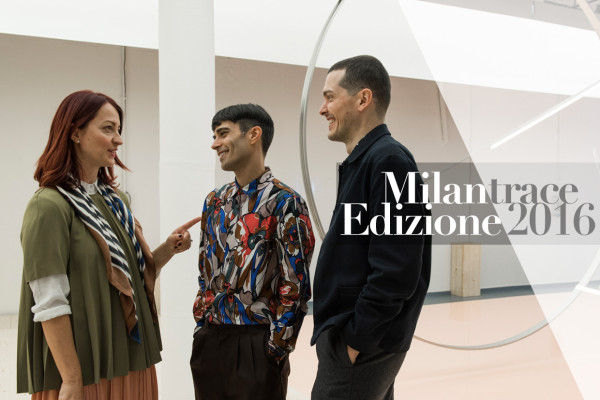 Milantrace Moment: Dana Tomic Hughes with Andrea Trimarchi & Simone Farresin of Formafantasma | Yellowtrace