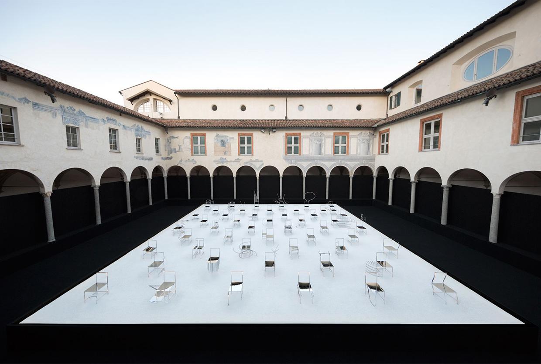 Nendo 50 Manga Chairs for Friedman Benda in Milan | Yellowtrace